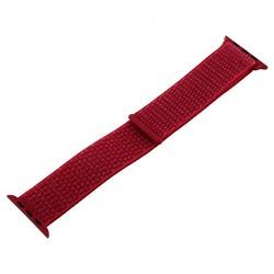 Ремешок COTEetCI W17 Magic Tape Band (WH5226-RD-44) для Apple Watch 44мм/ 42мм Red Красный