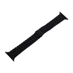 """Ремешок блочный-спираль из нержавеющей стали COTEetCI W26 застежка """"бабочка"""" (WH5239-BK) для Apple Watch 40мм/ 38мм Черный"""