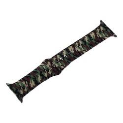 Ремешок силиконовый COTEetCI W45 Color (WH5278-CL) для Apple Watch 40мм/ 38мм Army camouflage Армейский камуфляж