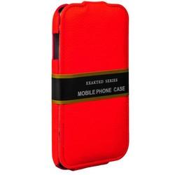 Чехол Exakted для iPhone 6s/ 6 (4.7) с откидным верхом Красный в техпаке