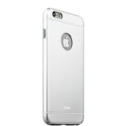 Накладка металлическая iBacks Ares Armour Aluminum Case для iPhone 6s/ 6 (4.7) - (ip60264) Silver