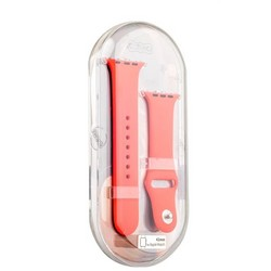 Ремешок спортивный COTEetCI W3 Sport Band (CS2086-RD) для Apple Watch 44мм/ 42мм Красный