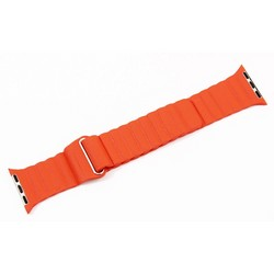 Ремешок кожаный COTEetCI W7 Leather Magnet Band (WH5205-OR) для Apple Watch 40мм/ 38мм Оранжевый