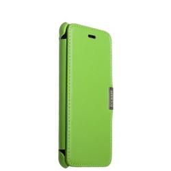Чехол-книжка кожаный i-Carer для iPhone 8 Plus/ 7 Plus (5.5) luxury Series Side-open (RIP7003green) Зеленый