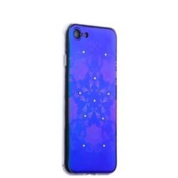 Накладка силиконовая Beckberg Golden Faith series для iPhone SE (2020г.)/ 8/ 7 (4.7) со стразами Swarovski вид 19