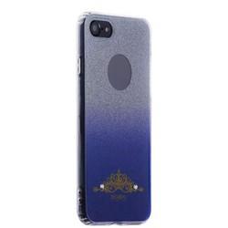Накладка силиконовая Beckberg Starlight series для iPhone SE (2020г.)/ 8/ 7 (4.7) со стразами Swarovski вид 1