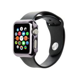 Чехол пластиковый COTEetCI Soft case для Apple Watch Series 1 (CS7015-GC) 38мм Графитовый