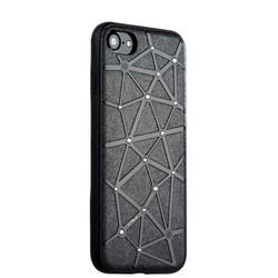 Чехол-накладка силиконовый COTEetCI Star Diamond Case для iPhone SE (2020г.)/ 8/ 7 (4.7) CS7032-BK Черный