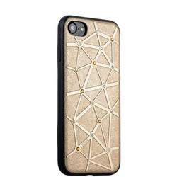 Чехол-накладка силиконовый COTEetCI Star Diamond Case для iPhone SE (2020г.)/ 8/ 7 (4.7) CS7032-GD Золотистый