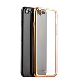 Чехол-накладка силикон Deppa Gel Plus Case D-85284 для iPhone SE (2020г.)/ 8/ 7 (4.7) 0.9мм Золотистый матовый борт