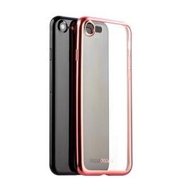Чехол-накладка силикон Deppa Gel Plus Case D-85285 для iPhone SE (2020г.)/ 8/ 7 (4.7) 0.9мм Розовое золото матовый борт