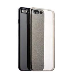 Чехол-накладка силикон Deppa Chic Case с блестками D-85301 для iPhone 8 Plus/ 7 Plus (5.5) 0.8мм Черный