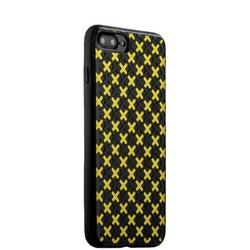Чехол-накладка силиконовый COTEetCI College Case для iPhone 8 Plus/ 7 Plus (5.5) CS7036-BY Черно-желтый