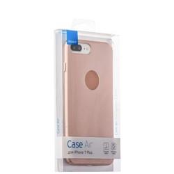 Чехол-накладка пластик Soft touch Deppa Air Case D-83276 для iPhone 8 Plus/ 7 Plus (5.5) 1мм Розовое золото