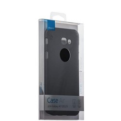 Чехол-накладка пластик Soft touch Deppa Air Case D-83289 для Samsung Galaxy A7 SM-A720F (2017 г.) 1мм Черный