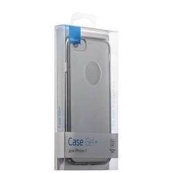 Чехол-накладка силикон Deppa Gel Plus Case D-85255 для iPhone SE (2020г.)/ 8/ 7 (4.7) 0.9мм Графитовый глянцевый борт