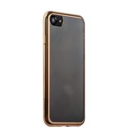 Чехол-накладка силикон Deppa Gel Plus Case D-85256 для iPhone SE (2020г.)/ 8/ 7 (4.7) 0.9мм Золотистый глянцевый борт