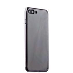 Чехол-накладка силикон Deppa Gel Plus Case D-85258 для iPhone 8 Plus/ 7 Plus (5.5) 0.9мм Черный глянцевый борт