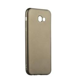 Чехол-накладка силиконовый J-case Delicate Series Matt 0.5mm для Samsung Galaxy A7 (2017) Графитовый