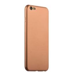 Чехол-накладка силиконовый J-case Delicate Series Matt 0.5mm для iPhone 6s Plus/ 6 Plus (5.5) Розовое золото