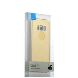 Чехол-накладка пластик Soft touch Deppa Air Case D-83304 для Samsung GALAXY S8 SM-G950 1мм Золотистый