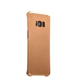 Чехол-накладка противоударный (AL&Pl) для Samsung GALAXY S8 SM-G950 Solace Золотистый (золотистый ободок)