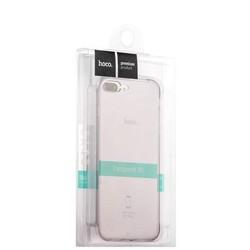 """Чехол силиконовый Hoco Light Series для iPhone 8 Plus/ 7 Plus (5.5"""") Дымчатый"""