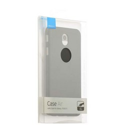 Чехол-накладка пластик Soft touch Deppa Air Case D-83299 для Samsung Galaxy J7 SM-J727P (2017 г.) 1мм Черный