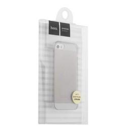 Чехол силиконовый Hoco Light Series для iPhone SE/ 5S/ 5 (4.7) Дымчатый