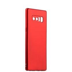 Чехол-накладка силиконовый J-case Delicate Series Matt 0.5mm для Samsung Galaxy Note 8 (N950) Красный