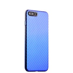 "Чехол-накладка пластиковый J-case Colorful Fashion Series 0.5mm для iPhone 8 Plus/ 7 Plus (5.5"") Голубой оттенок"