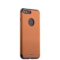 """Чехол-накладка силиконовый J-case Jack Series (с магнитом) для iPhone 8 Plus/ 7 Plus (5.5"""") Светло-коричневый"""