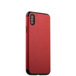 """Чехол-накладка силиконовый J-case Jack Series (с магнитом) для iPhone XS/ X (5.8"""") Красный"""