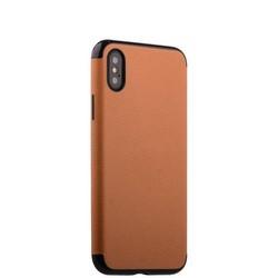 """Чехол-накладка силиконовый J-case Jack Series (с магнитом) для iPhone XS/ X (5.8"""") Светло-коричневый"""