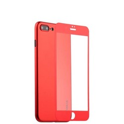"Чехол-накладка супертонкая Coblue Slim Series PP Case & Glass (2в1) для iPhone 8 Plus/ 7 Plus (5.5"") Красный"