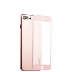 "Чехол-накладка супертонкая Coblue Slim Series PP Case & Glass (2в1) для iPhone 8 Plus/ 7 Plus (5.5"") Розовый"