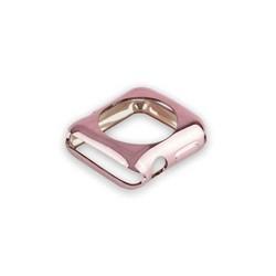 Чехол силиконовый COTEetCI TPU case для Apple Watch Series 3/ 2 (CS7040-MRG) 38мм Розовое золото