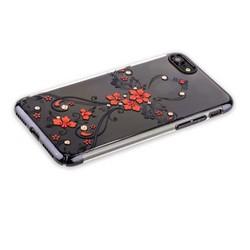 "Чехол-накладка KINGXBAR для iPhone SE (2020г.)/ 8/ 7 (4.7"") пластик со стразами Swarovski 49F черный (Феникс)"