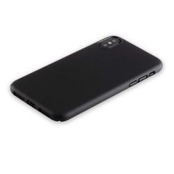 "Чехол-накладка пластик Soft touch Deppa Air Case D-83321 для iPhone XS/ X (5.8"") 1мм Черный"