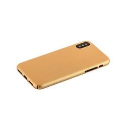 "Чехол-накладка пластик Soft touch Deppa Air Case D-83322 для iPhone XS/ X (5.8"") 1мм Золотистый"