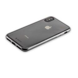 """Чехол-накладка силикон Deppa Gel Plus Case D-85336 для iPhone XS/ X (5.8"""") 0.9мм Черный матовый борт"""