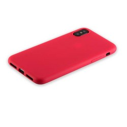 """Чехол-накладка силикон Anycase TPU A-140050 для iPhone XS/ X (5.8"""") 1.0 мм матовый Красный"""
