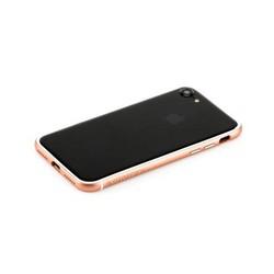 """Бампер поликарбонат с силиконом Totu Evoque Series для Apple iPhone SE (2020г.)/ 8/ 7 (4.7"""") Розовое золото"""