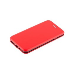 Чехол-книжка кожаный Fashion Case Slim-Fit для iPhone SE (2020г.)/ 8/ 7 (4.7) Red Красный