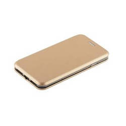 Чехол-книжка кожаный Fashion Case Slim-Fit для iPhone SE (2020г.)/ 8/ 7 (4.7) Gold Золотой