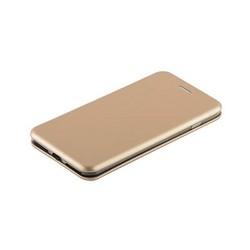 """Чехол-книжка кожаный Fashion Case Slim-Fit для iPhone 8 Plus/ 7 Plus (5.5"""") Gold Золотой"""