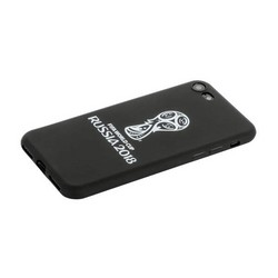 "Чехол-накладка TPU Deppa D-103902 ЧМ по футболу FIFA™ Official Emblem для iPhone SE (2020г.)/ 8/ 7 (4.7"") Белый"