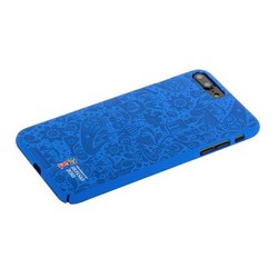 "Чехол-накладка PC Deppa D-103920 ЧМ по футболу FIFA™ Official Pattern для iPhone 8 Plus/ 7 Plus (5.5"") Синий"