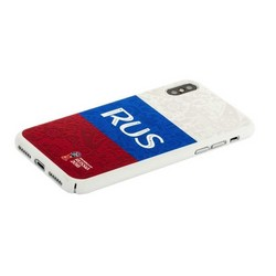 """Чехол-накладка PC Deppa D-103941 ЧМ по футболу FIFA™ Flag Russia для iPhone XS/ X (5.8"""")"""