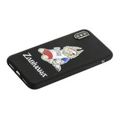 """Чехол-накладка TPU Deppa D-103948 ЧМ по футболу FIFA™ Zabivaka 3 для iPhone XS/ X (5.8"""")"""